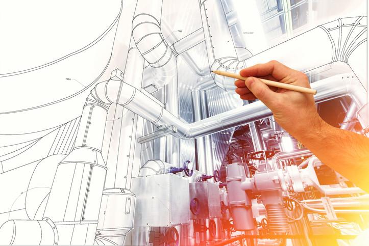 Conception 3D et dimensionnement d'équipements thermiques et fluides