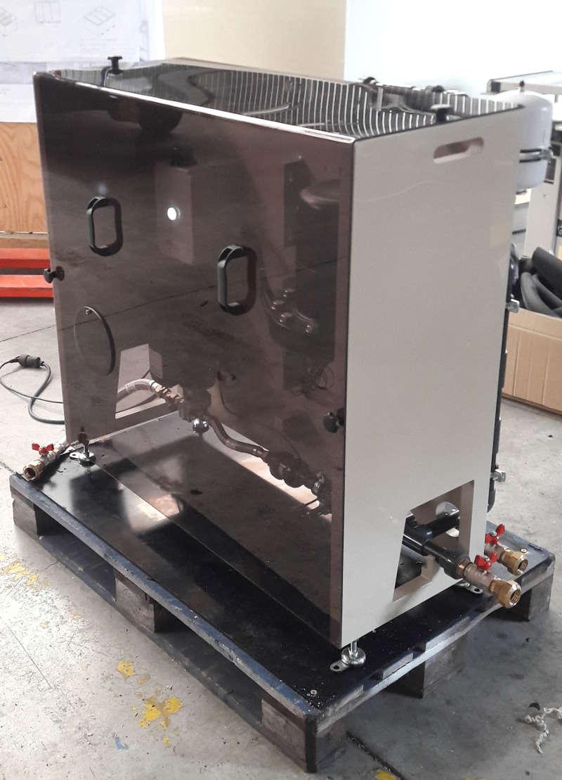 Centrale de traitement d'eau pluviale automatique et communicante, 1,3 m3/h.