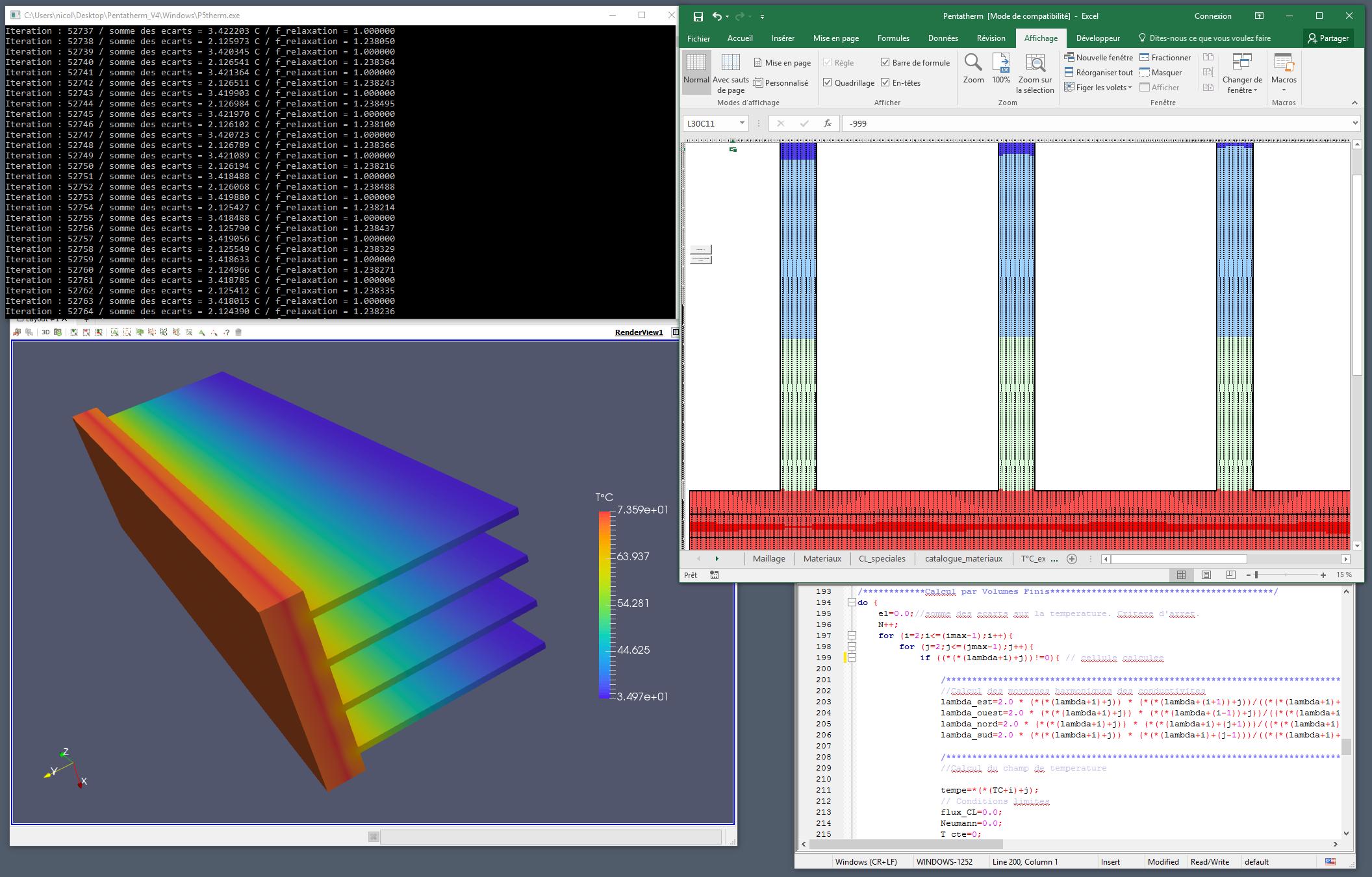 Développement d'outils de calcul spécifiques